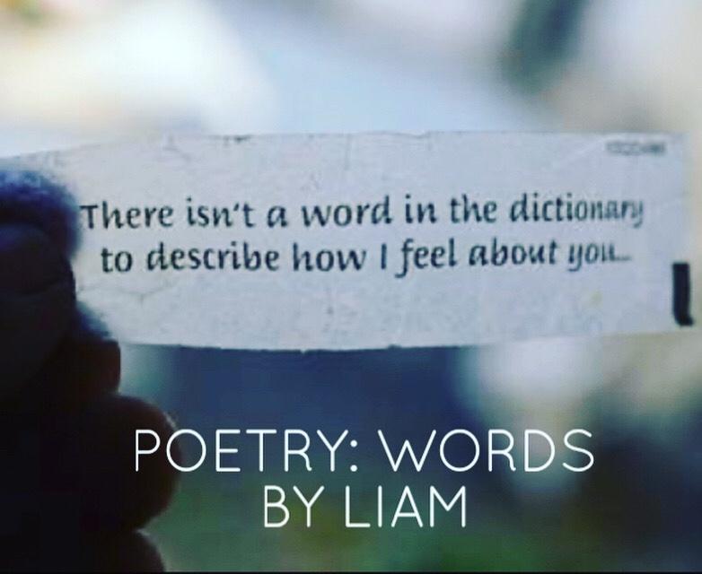 Love Poetry: Words