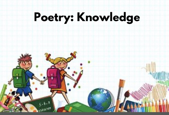 Poetry: Knowledge
